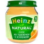 Пюре Heinz тыква/курица 120г