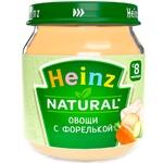 Pireu Heinz legume/pastrav 120g