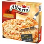 Пицца Alberto Quattro Formaggi замороженная 320г