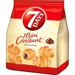 Croissante 7Days mini cu cacao 185g