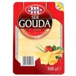 Сыр Gouda Mlekovita нарезанный 500г