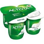 Йогурт Danone Activia natur 4x125г
