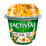 Iaurt Activia natur cu cereale mic 168g