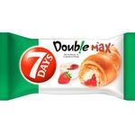 Croissant 7Days cu capsuna si vanilie 80g
