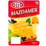 Сыр Mazdamer Mlekovita нарезанный 150г