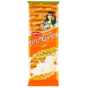 Печенье Bucuria Tarancuta с молоком 500г - купить, цены на Метро - фото 1