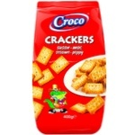 Crackers Croco mixate 400g