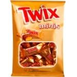 Конфеты шоколадные Twix Minis с печеньем 184г