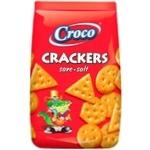 Crackers Croco cu sare 100g