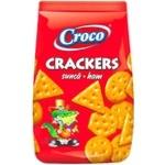 Crackers Croco cu gust de sunca 100g