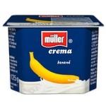Crema de iaurt Muller cu banane 125g