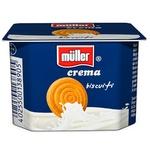 Crema de iaurt Muller cu biscuiti 125g