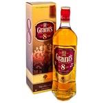 Whisky Grants 8 ani 0,7l