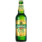 Пиво светлое Львівське 1715 стекло 0,5л