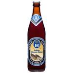 Пиво темное нефильтрованное Hofbrau стекло 0,5л