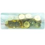 Кнопки металл/пластик Sigma 50шт