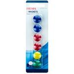 Set magneți color Sigma 2cm 6buc