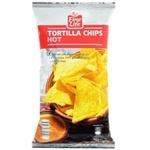 Кукурузные чипсы Fine Life со вкусом паприки 200г