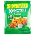 Сухарики Хрустец со вкусом холодца/хрена 130г