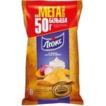 Chips Lux cu gust de smantina 183g
