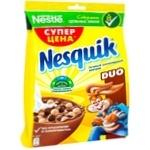 Cухой завтрак Nesquik Duo Nestle злаки 225г