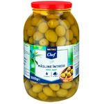 Оливки зеленые МETRO Chef Giants 3000г