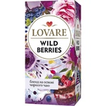 Ceai Lovare Wild Berry negru in plicuri 24x2g