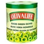 Masline verzi OlivaLife feliate 3150g