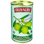 Оливки зеленые без косточки 24/26 Olivalife 350г