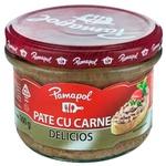 Pate cu carne de porc Pamapol 200g