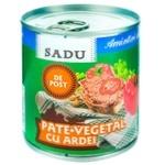 Pate vegetal cu ardei Sadu 200g