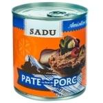 Паштет со свиной печенью Sadu 200г+100г