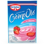 Микс для десерта Dr. Oetker Creme Ole клубника 75г