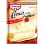 Crema pentru prajituri Dr. Oetker vanilie 50g