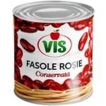 Фасоль красная консервированная Vis 410г