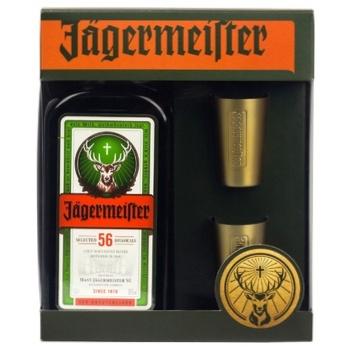 Ликер Jagermeister 35% 0,7л - купить, цены на Метро - фото 2