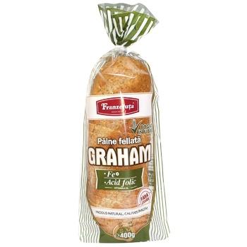 Хлеб Franzeluta Graham нарезанный 400г - купить, цены на Метро - фото 1