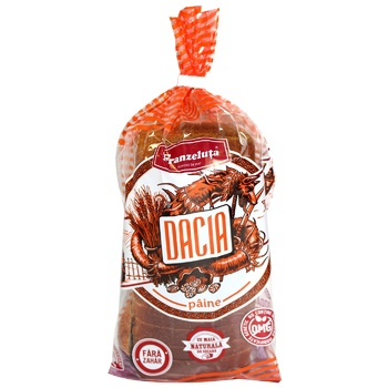 Хлеб Dacia ржаной нарезанный 500г - купить, цены на Метро - фото 1