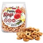 Сушки Franzeluța Rings с маком 200г