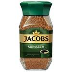 Кофе растворимый Jacobs Monarch в банке 190г