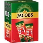 Кофе растворимый Jacobs 3в1 интенсивный 24x12г