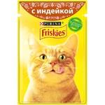 Корм для кошек Friskies индейка 100г