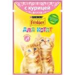 Hrana pentru pisici Friskies pui/morcov 100g