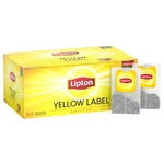 Чай Lipton Yellow Label черный в пакетиках 50x2г