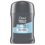 Deodorant stick Dove Clean Men 50ml