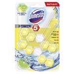 Средство для унитаза Domestos Lemon 2x55г