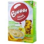 Каша рисово-кукурузная Винни банан 200г