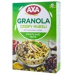 Musli AXA miere/fructe/nuci 375g