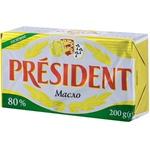 Масло President солёное 80% 200г