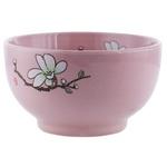 Керамическая салатница цветы/вишня